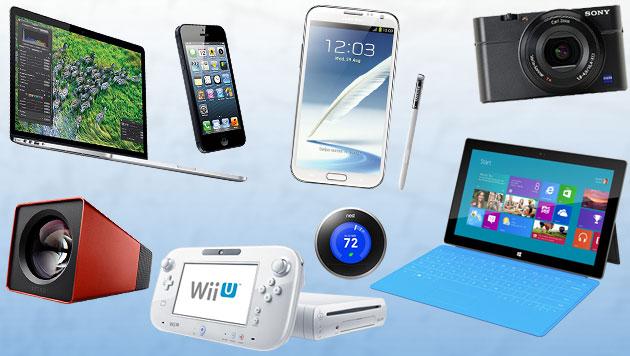 Das sind die 10 besten Gadgets des Jahres 2012 (Bild: Hersteller, krone.at-Grafik)