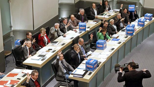 Kärntner wählen am 3. März ihren Landtag (Bild: APA/Gert Eggenberger)