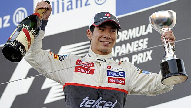 Kobayashi gibt die Hoffnung auf F1-Cockpit für 2013 auf (Bild: EPA)