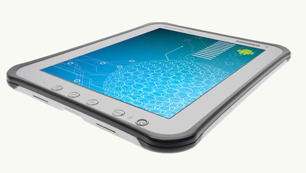 Outdoor-Tablet übersteht Stürze, Staub und Wasser (Bild: Panasonic)