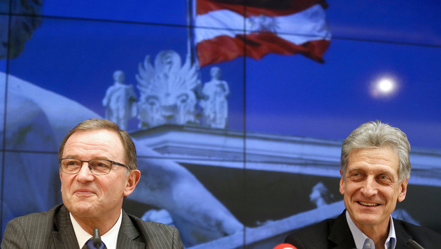 SPÖ und ÖVP einigen sich auf Demokratiepaket (Bild: APA/Georg Hochmuth)