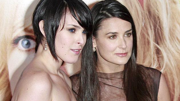 Töchter haben Kontakt zu Demi Moore abgebrochen (Bild: EPA)