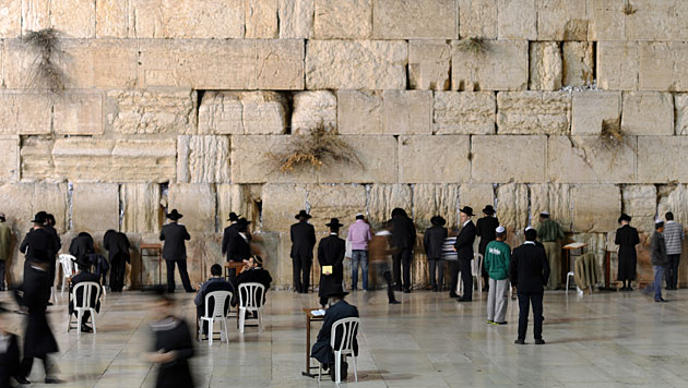 An der Klagemauer Schecks über 500 Mio. $ entdeckt (Bild: dapd)