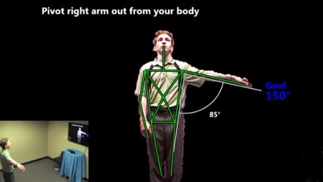 """""""Kinect""""-Therapie für verletzte Soldaten in den USA (Bild: Infostrat)"""
