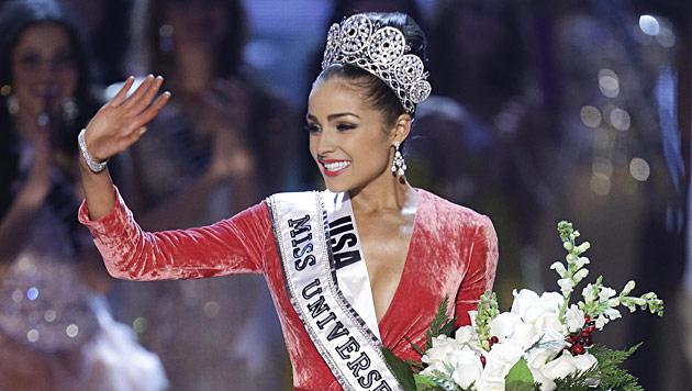 """Olivia Culpo aus den USA ist die neue """"Miss Universe"""" (Bild: AP)"""