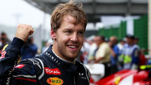 "Weltmeister Vettel ist ein ""potenzieller Ferrari-Fahrer"" (Bild: EPA)"