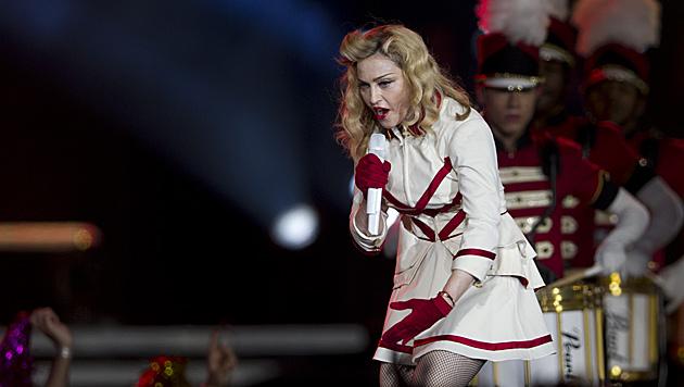 Madonna verschafft den Achselhaaren ein Comeback (Bild: dapd)