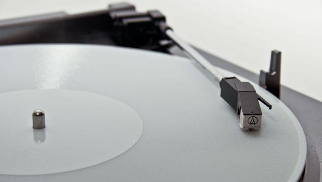 """Schallplatten mittels 3D-Drucker """"ausgedruckt"""" (Bild: A. Ghassaei)"""