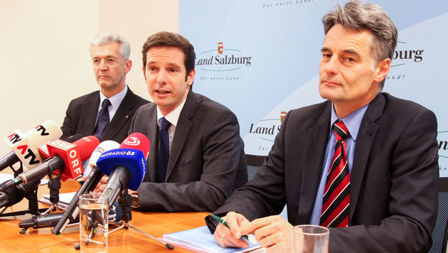 """Prüfer in Sbg: """"Kritik zu Geschäften wurde gelöscht"""" (Bild: APA/NEUMAYR/MMV)"""