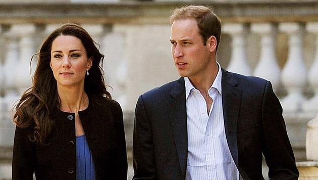 William und Kate feiern Weihnachten bei den Middletons (Bild: EPA)