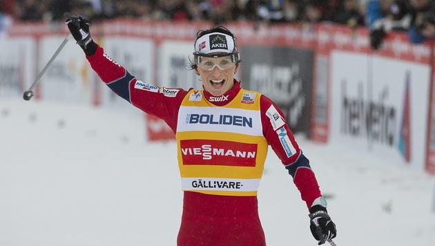 Herzprobleme: Björgen muss Tour de Ski auslassen (Bild: EPA)
