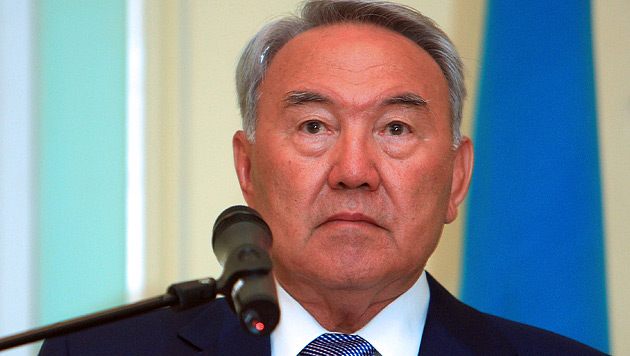 Kasachstans Staatschef Nursultan Nasarbajew (Bild: EPA)