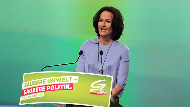 Eva Glawischnig übt Kritik an laschem Spekulationsverbot (Bild: APA/RUBRA)