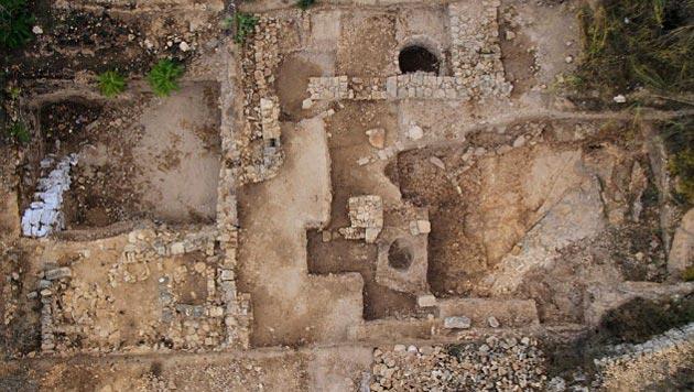 Arch�ologen finden 3.000 Jahre alten Tempel in Israel (Bild: Israel Antiquities Authority)