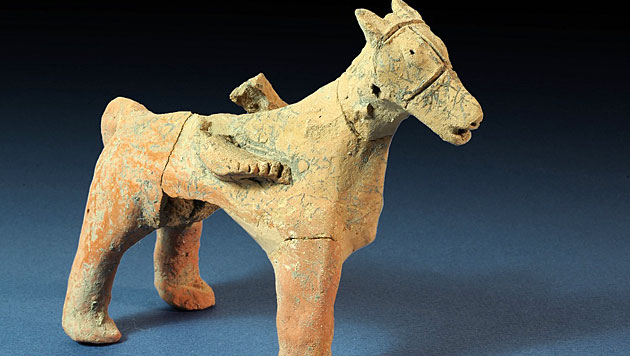 Arch�ologen finden 3.000 Jahre alten Tempel in Israel (Bild: Israel Antiquities Authority/Clara Amit)