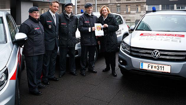 Finanzministerium jagt S�nder k�nftig mit SUVs (Bild: Bundesministerium f�r Finanzen)