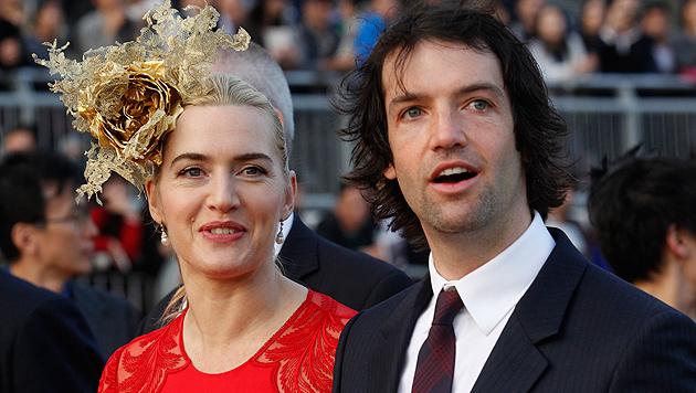 Kate Winslet stoppt Nacktbilder ihres Ehemanns (Bild: AP)