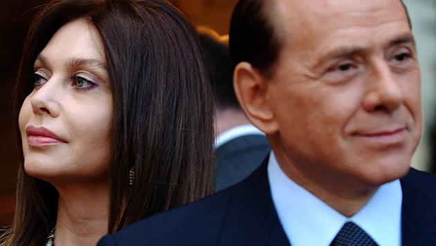 Berlusconis Ex-Frau bekommt drei Mio. Euro - im Monat (Bild: AP)