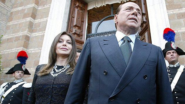 Berlusconis Ex-Frau bekommt drei Mio. Euro - im Monat (Bild: EPA)