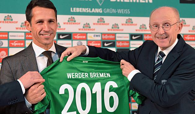 Ex-Profi Eichin wird neuer Werder-Gesch�ftsf�hrer (Bild: EPA)