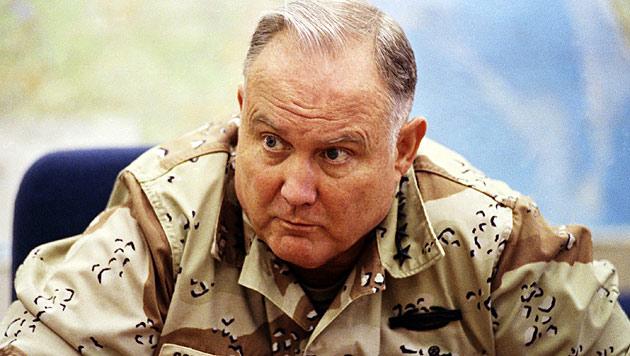 Ex-US-General Schwarzkopf 78-jährig gestorben (Bild: AP)