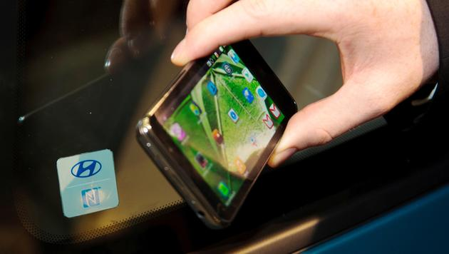 Hyundai ersetzt Autoschl�ssel durch das Smartphone (Bild: Hyundai)