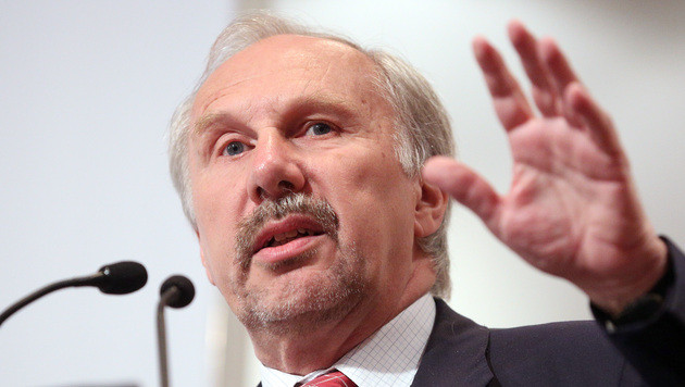 """Nowotny: """"Inflation 2014 bereits unter zwei Prozent"""" (Bild: APA/GEORG HOCHMUTH)"""