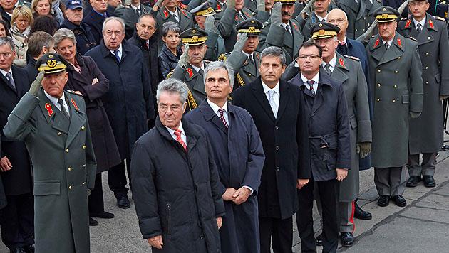 SP� und �VP er�ffnen letzte Schlacht ums Heer (Bild: Photonews.at, Georges Schneider)