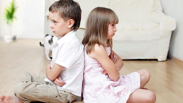Streit unter Geschwistern kann depressiv machen (Bild: thinkstockphotos.de)
