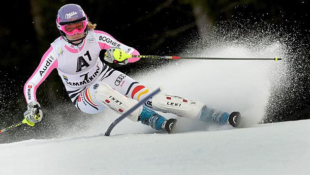 Nur Velez-Zuzulova am Semmering schneller als Zettel (Bild: EPA)