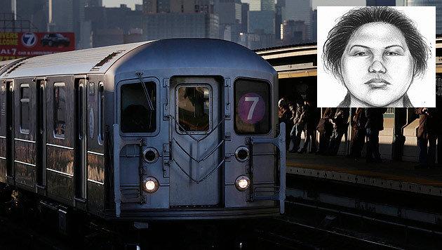 """New York: Mann (46) """"aus Hass"""" vor U-Bahn gesto�en (Bild: AP)"""
