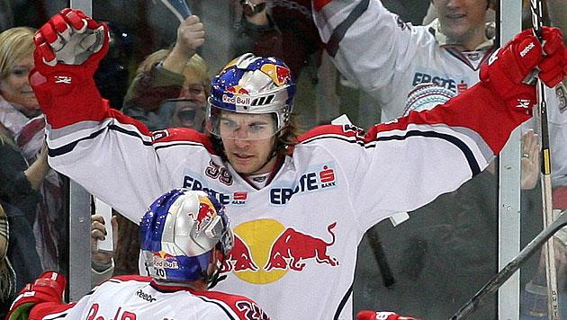 Eishockey: Salzburg trennt sich von Alexandre Grenier (Bild: Andreas Tröster)