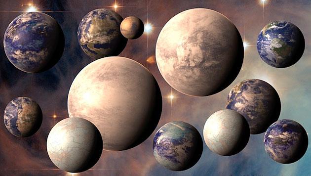 """Erste """"zweite Erde"""" wird 2013 entdeckt werden (Bild: PHL @ UPR Arecibo, ESA/Hubble, NASA)"""