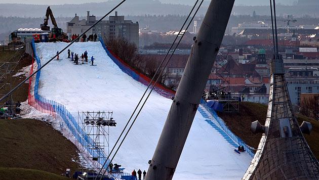 �SV-Bossen st��t Parallel-Slalom in M�nchen sauer auf (Bild: dapd)
