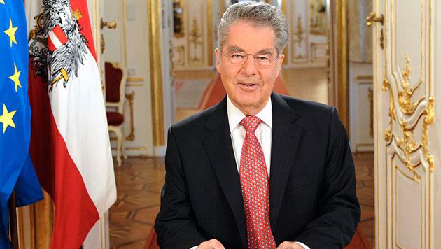 """Bundespräsident Fischer warnt vor """"Casino-Mentalität"""" (Bild: APA/BUNDESHEER/GUNTER PUSCH)"""