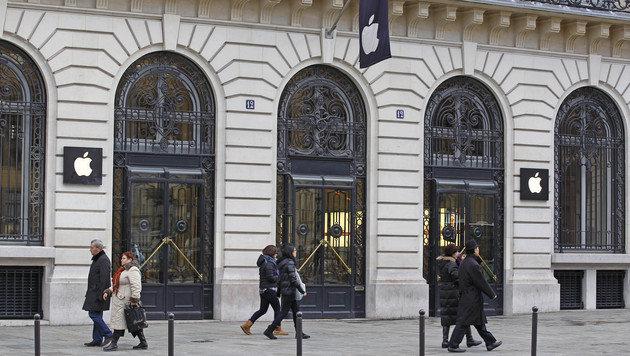 Apple könnte bald sogar Shops patentieren lassen (Bild: AP)