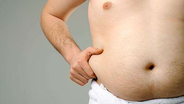 Immer mehr Österreicher leiden an Fettleibigkeit (Bild: thinkstockphotos.de)