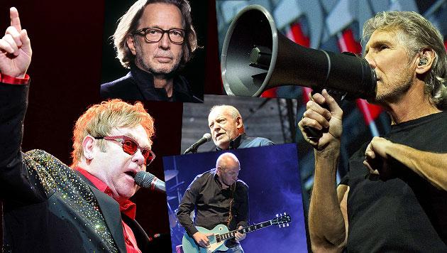 Rock-Legenden beehren 2013 Österreichs Bühnen (Bild: dapd, EPA, LSK, Warner Music, Uta Rojsek-Wiedergut)