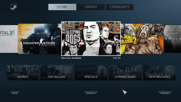Steam-Konsole: Valve setzt auf Linux statt Windows (Bild: Valve)