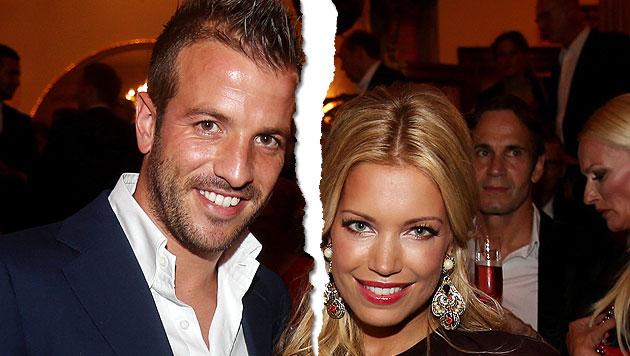 Sylvie & Rafael van der Vaart haben sich getrennt (Bild: EPA)