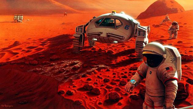 Astronauten droht bei langen Reisen im All Alzheimer (Bild: NASA/Pat Rawlings, SAIC)