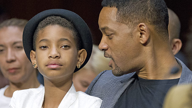 Zw�lfj�hrige Willow Smith soll an Depressionen leiden (Bild: dapd)