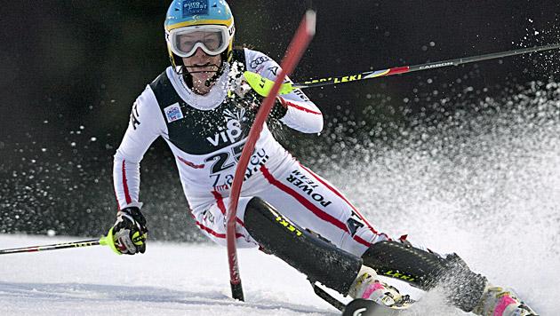 Ski-Schock: Carmen Thalmann erleidet Kreuzbandriss (Bild: EPA)