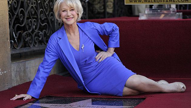 """Ein Stern f�r die """"Queen"""": Helen Mirren geehrt (Bild: AP)"""