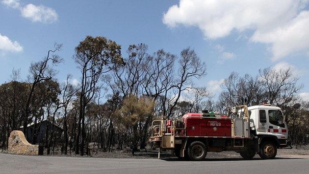 Extreme Hitze in Australien: Angst vor Bränden steigt (Bild: EPA)