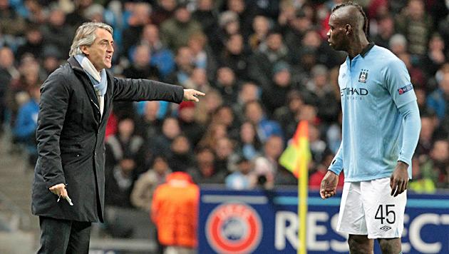 """Mancini wiegelt ab: """"So etwas passiert von Zeit zu Zeit"""" (Bild: EPA)"""