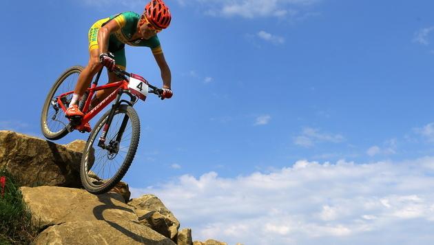 Olympia-Biker Burry Stander t�dlich verungl�ckt (Bild: EPA)