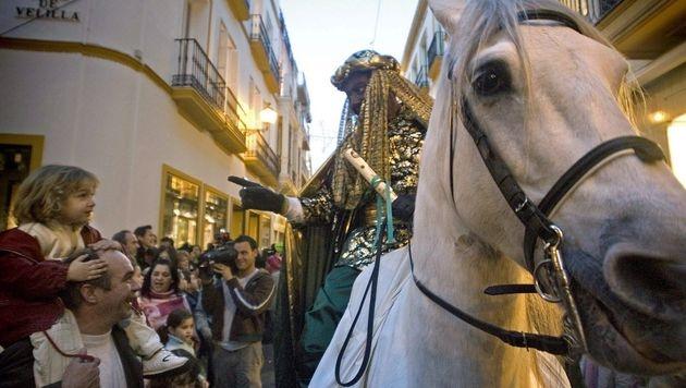 """Spanien: """"König Balthasar"""" wird abgeschoben (Bild: EPA (Symbolbild))"""