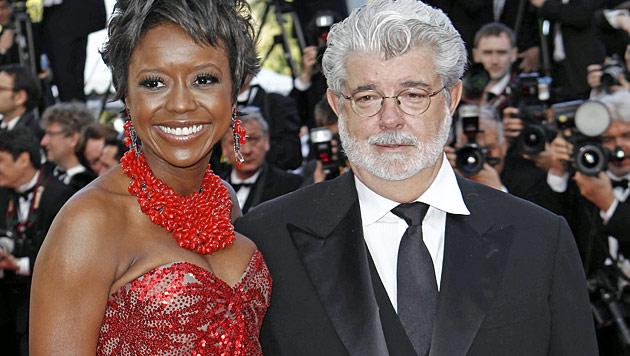 """Star Wars""-Regisseur George Lucas ist verlobt (Bild: dapd)"