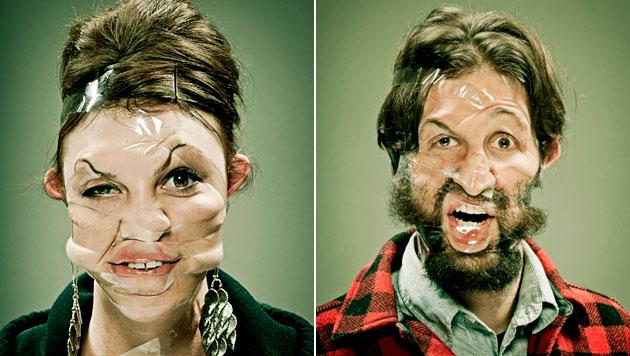 US-Fotokünstler beweist Mut zur Hässlichkeit (Bild: Wes Naman)